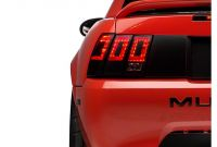 2014 ford Mustang Tail Lights American Muscle Graphics Mustang Tail Light Conversion Decal Matte